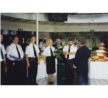 Captain Erich Moik`s 50th birthday