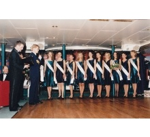 Miss Estonia 1996 EstLine Mare Balticum