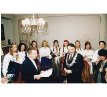 Miss Estonia 1996 EstLine Mare Balticum_2