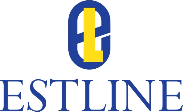 Estline's logo in 1990-1994